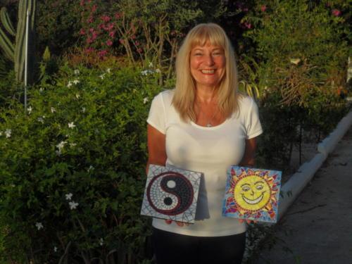 Mosaic Art Course & Holidays